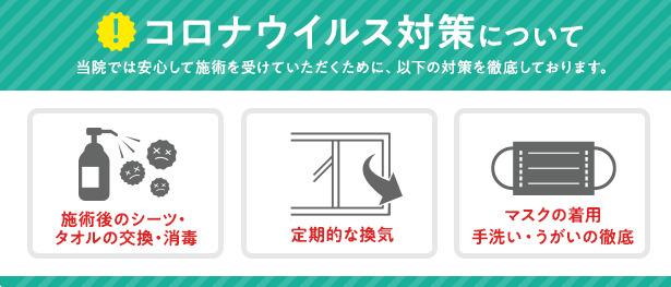神戸快癒館の新型コロナウイルス対策について